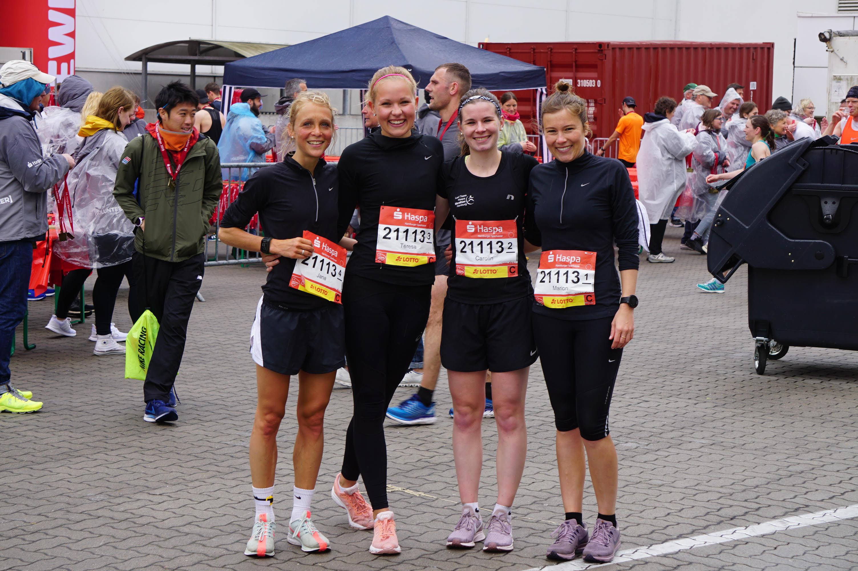 Laufteam Haspa Marathon Hamburg